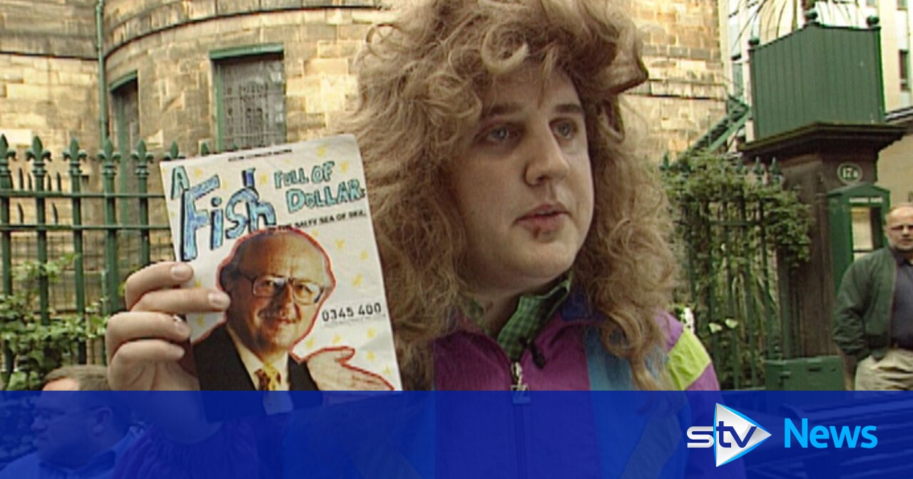 Peter Kay at the Edinburgh Fringe before he was famous