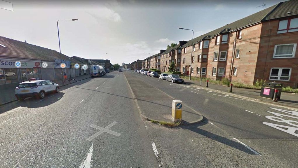 Four-year-old girl was hit by car on Dumbarton Road in Glasgow.