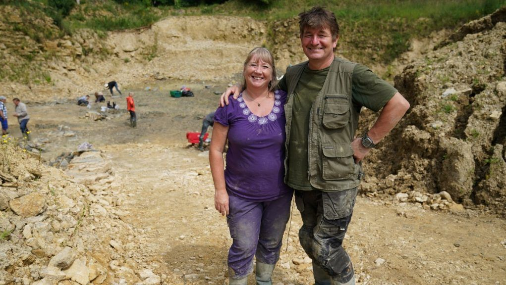 Neville and Sally Hollingworth asked to visit the site after spotting it online.