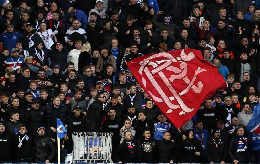 Rangers have advised fans not to travel to Blackpool.