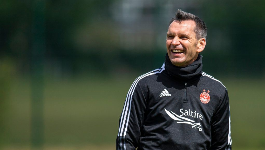 Stephen Glass will lead his Aberdeen team into Europe.