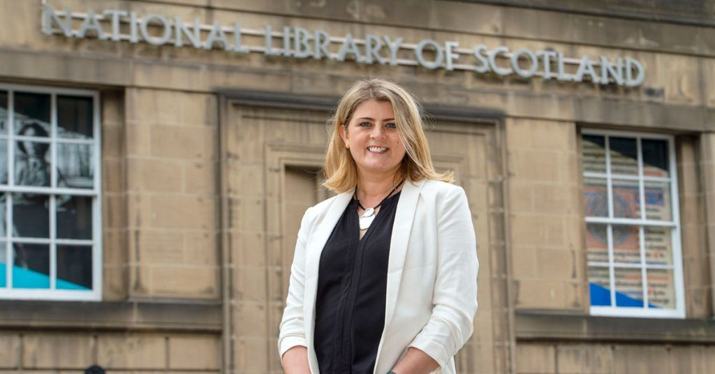 Amina Shah has been appointed chief executive of the National Library of Scotland.