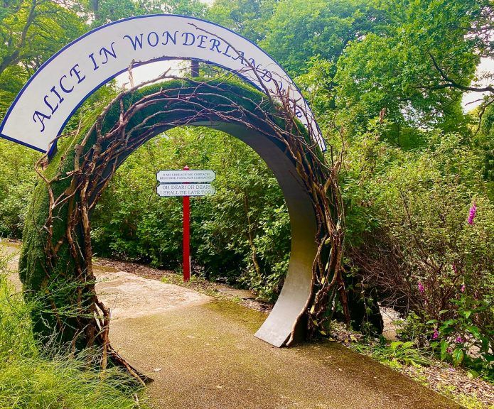 Adventure: Interactive show will take audiences into the magical world of Alice in Wonderland.