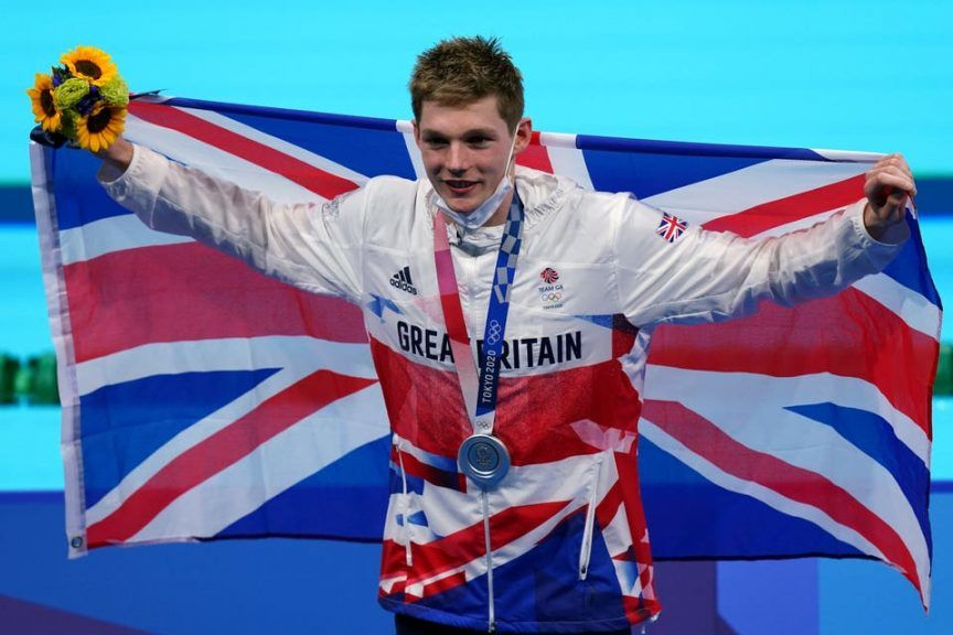 Scott: Third medal of Tokyo games.