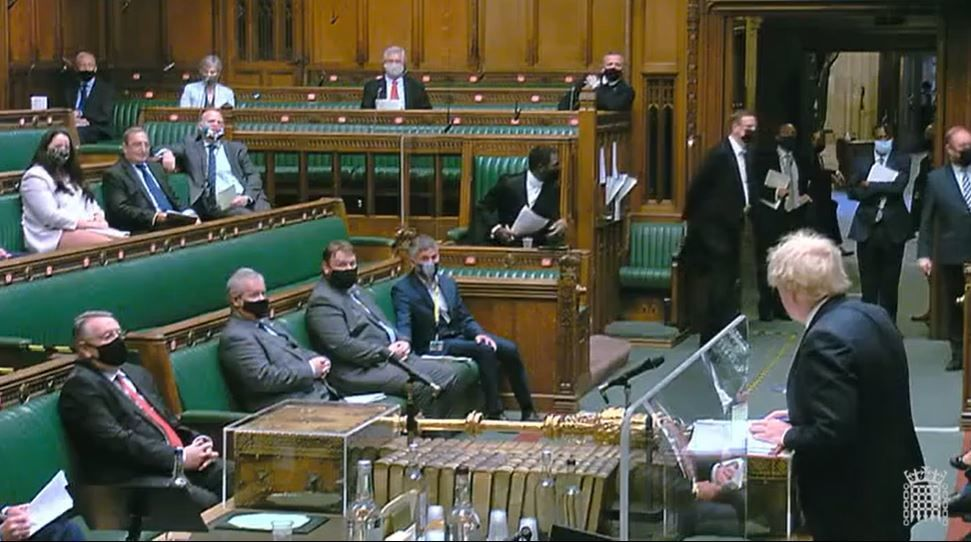 Scottish MPs have indicated they will continue to wear face coverings at Westminster.