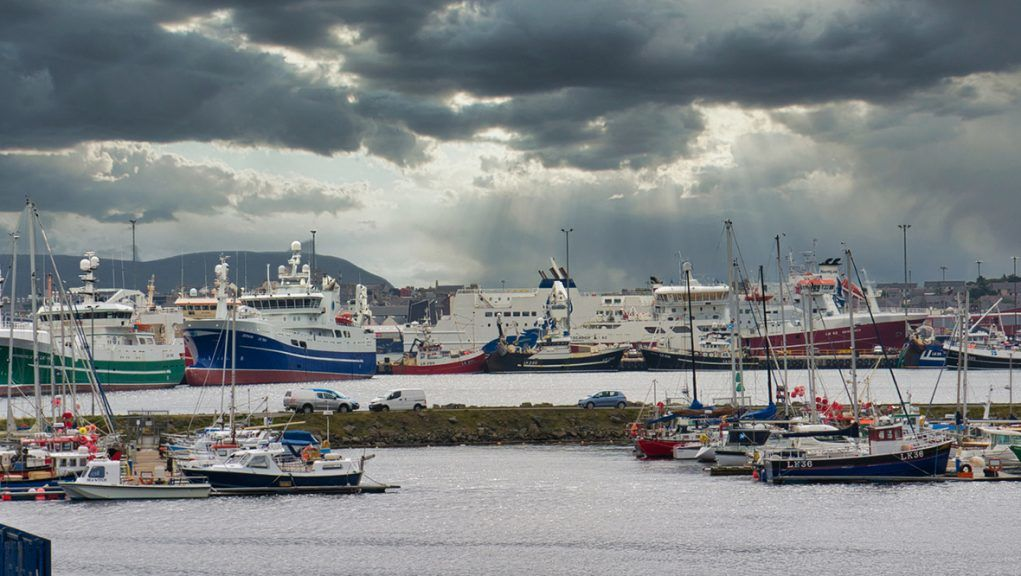 Lerwick Harbour: First cruise ship since Covid to arrive in Scotland on Monday.