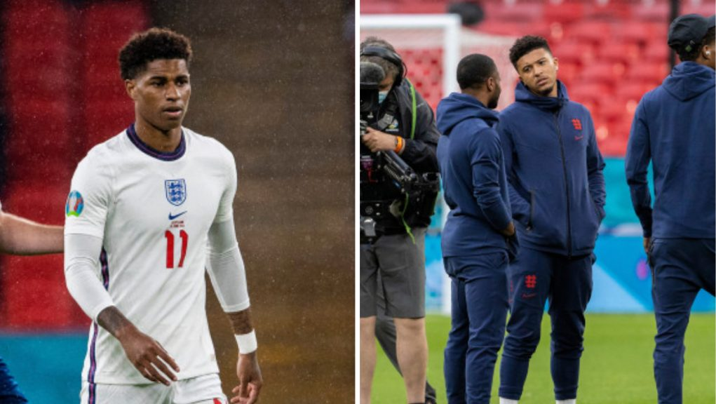 Marcus Rashford and Jadon Sancho suffered abuse after the Italy vs England Euros 2020 final.