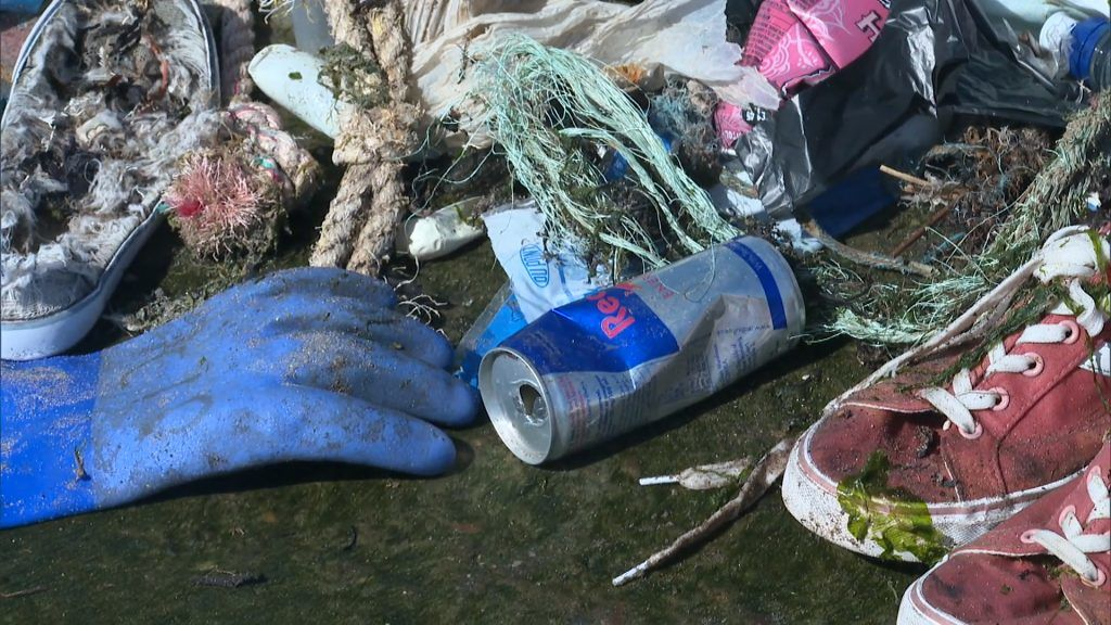 This year alone, volunteer litter picking group Angus Clean Environments has found 3.4 tonnes of rubbish on the county's coastline.