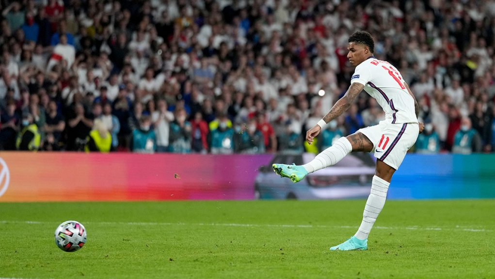 Marcus Rashford missed a penalty in England's shoot-out defeat to Italy in the Euro 2020 final.