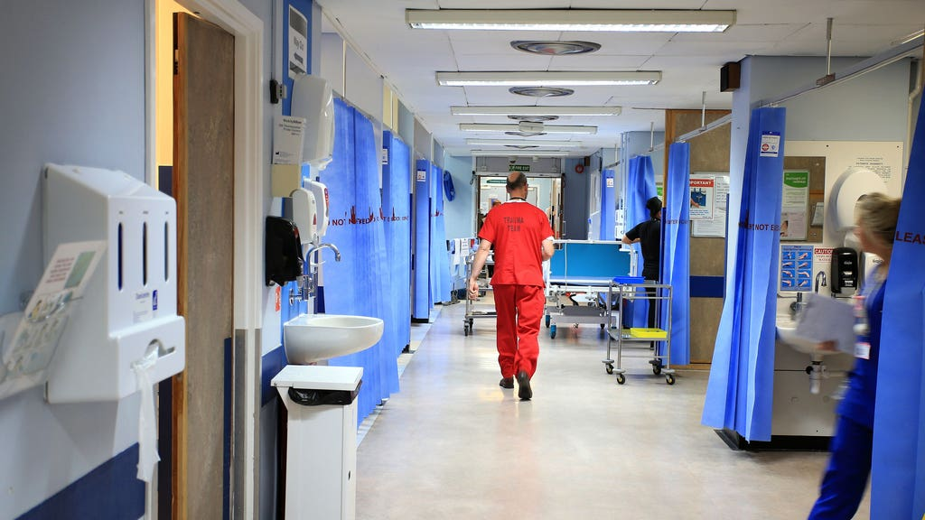 An additional 30-bed ward has been opened up for Covid patients at Ninewells Hospital in Dundee.