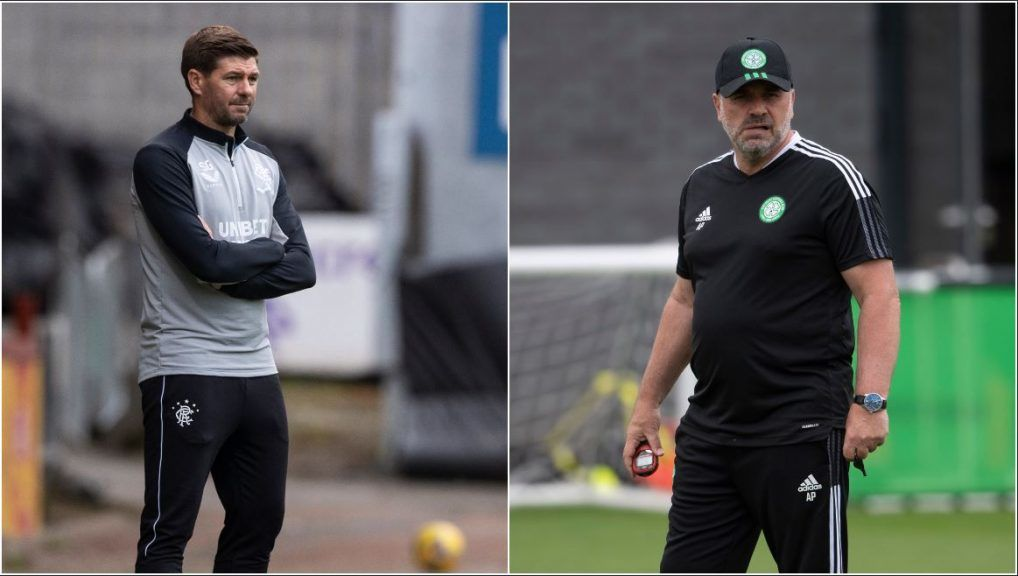 Steven Gerrard and Ange Postecoglou are working to lead their teams to the group stage.