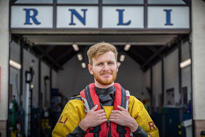 Andrew Malone and his team responded to boy being pulled out to sea.