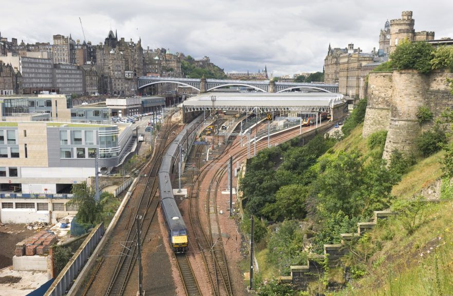 ScotRail said replacements buses were being arranged.