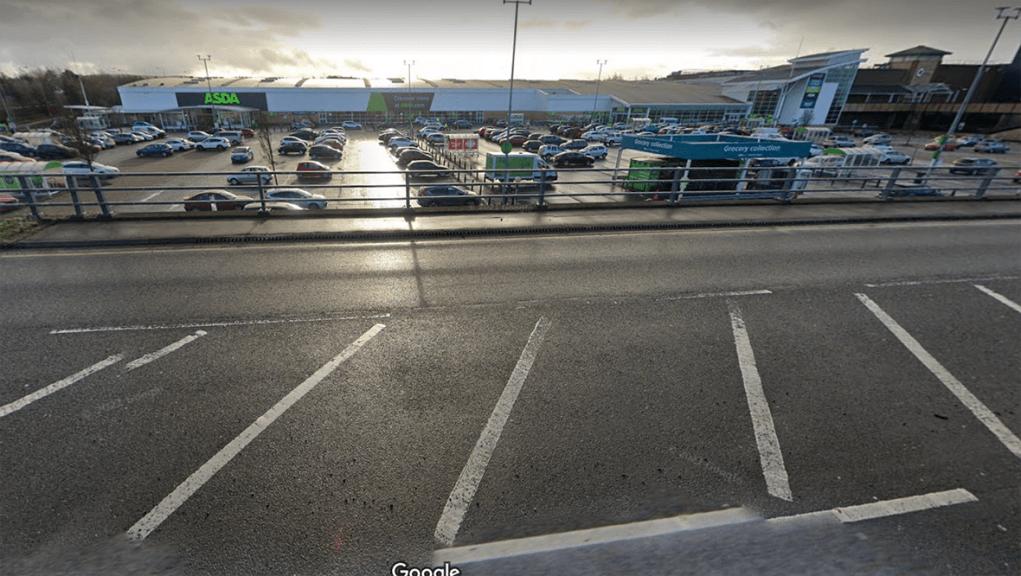 Police appealing for witnesses to supermarket car park assault.