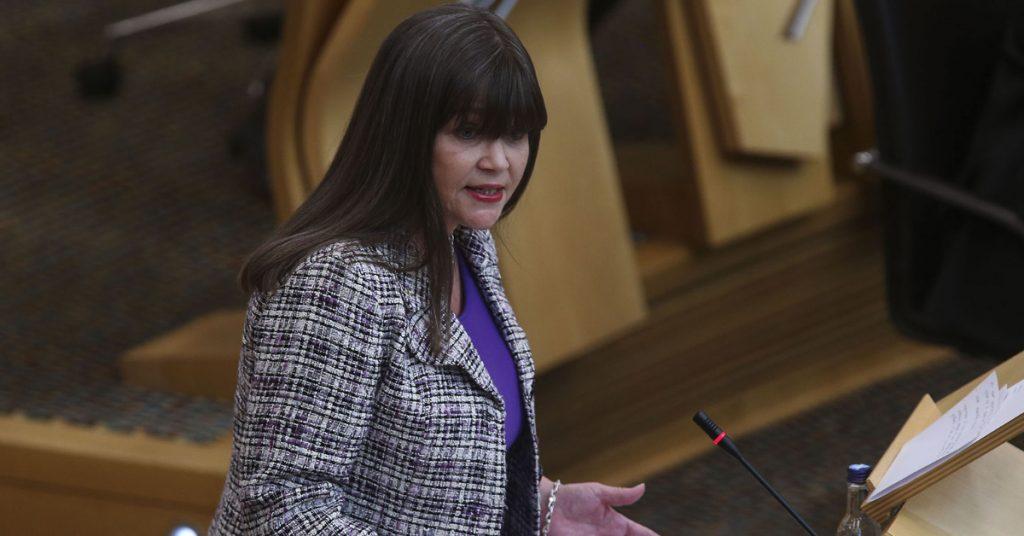 Children's minister Clare Haughey.
