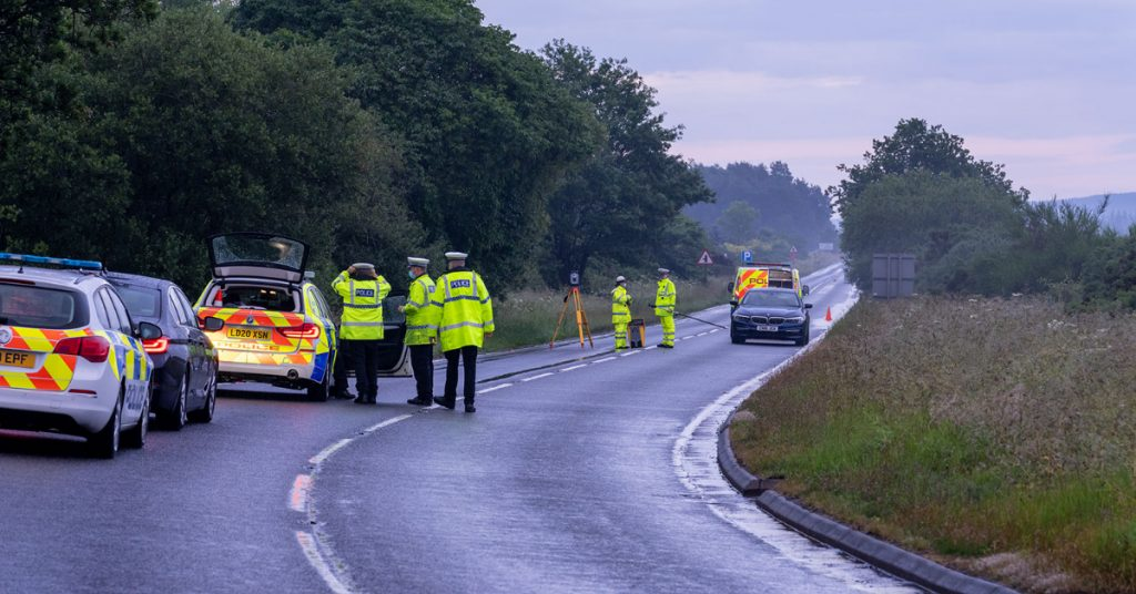 Police Scotland is appealing for witnesses following the fatal crash.