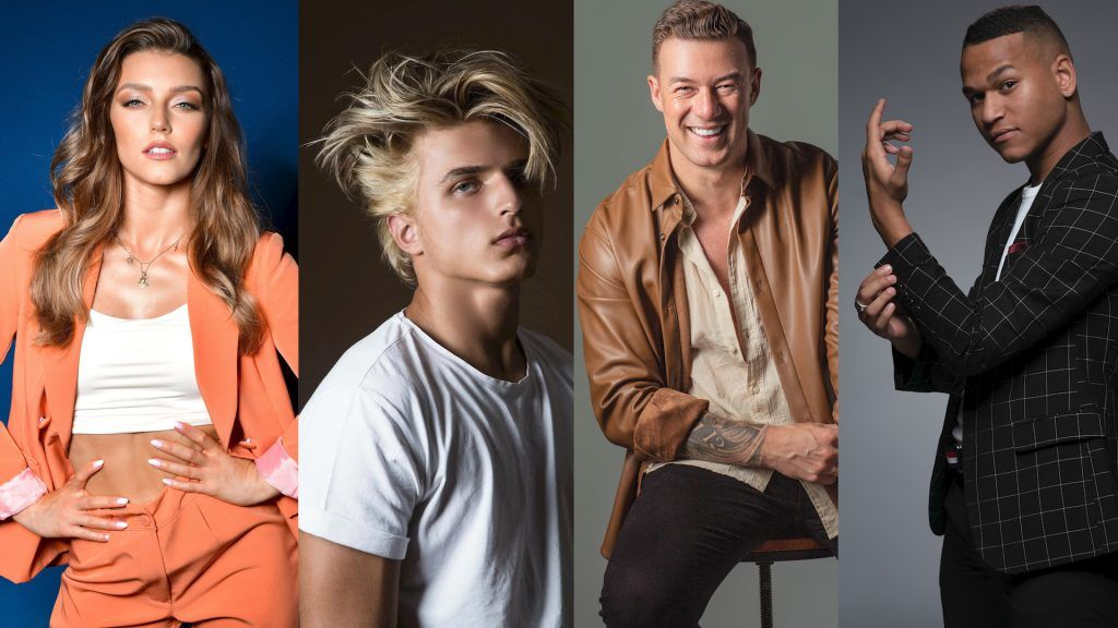 Four new professional dancers will take part in the new Strictly Come Dancing.