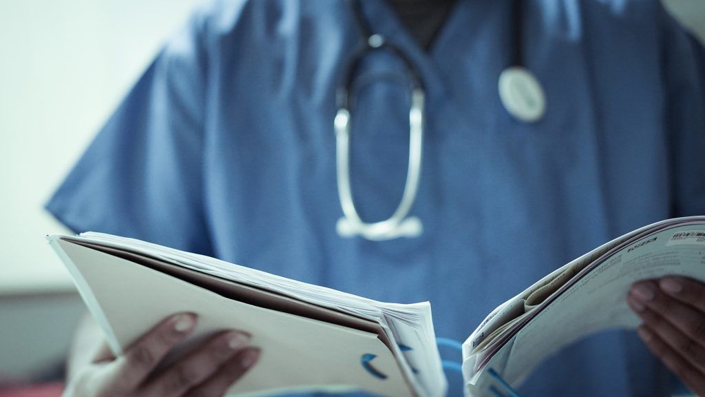 Staffing: NHS vacancies reach 'record levels'.