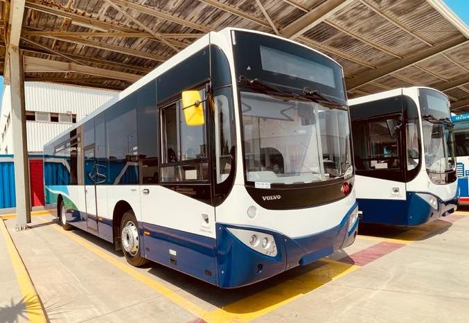 A £5.4m investment is being made in 34 buses.