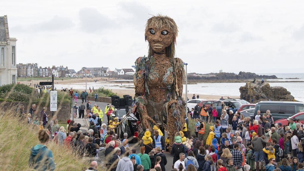 The puppet will be visiting other parts of Scotland in the coming months.