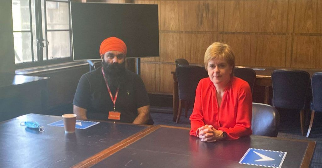 Nicola Sturgeon met with Jagtar's family earlier this month before writing to Dominic Raab.