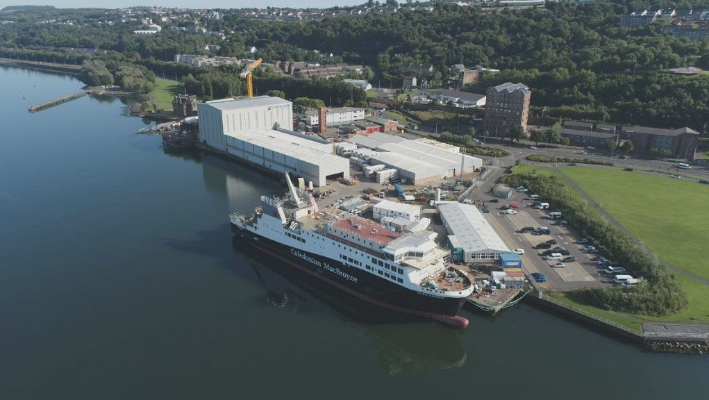 Ferguson Marine (Port Glasgow) Holdings Ltd was nationalised by the Scottish Government in August 2019 after going into administration.