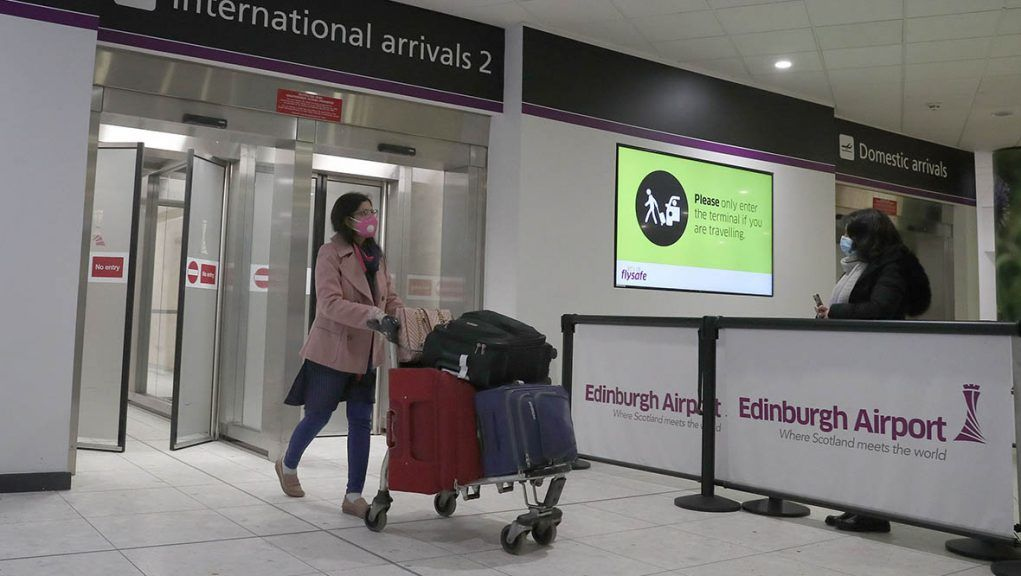 The rule change for US and EU arrivals came into effect at 4am on Monday morning.