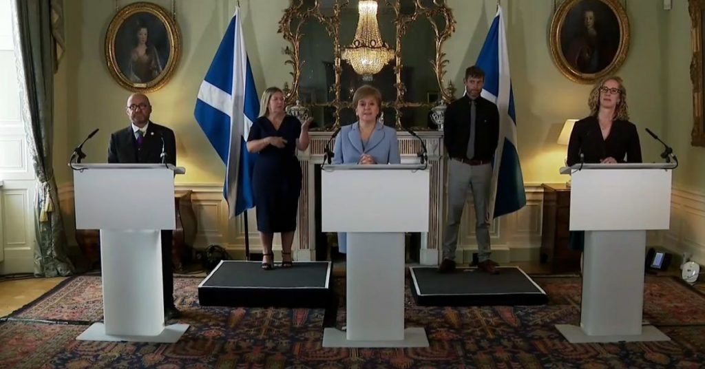Greens: Details of deal to be set out as Holyrood returns from recess.