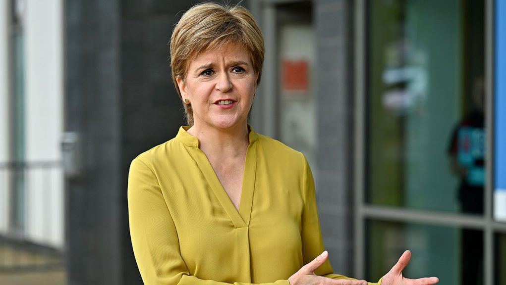 The First Minister will talk about tackling the climate emergency.