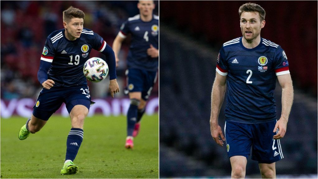 Kevin Nisbet and Stephen O'Donnell are out of Scotland's qualifier against Denmark.