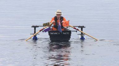 Major Mick Stanley, Loch Ness.