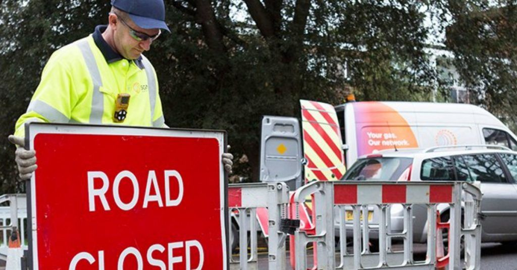 The A96 Great Northern Road/Auchmill Road has been closed since Saturday.