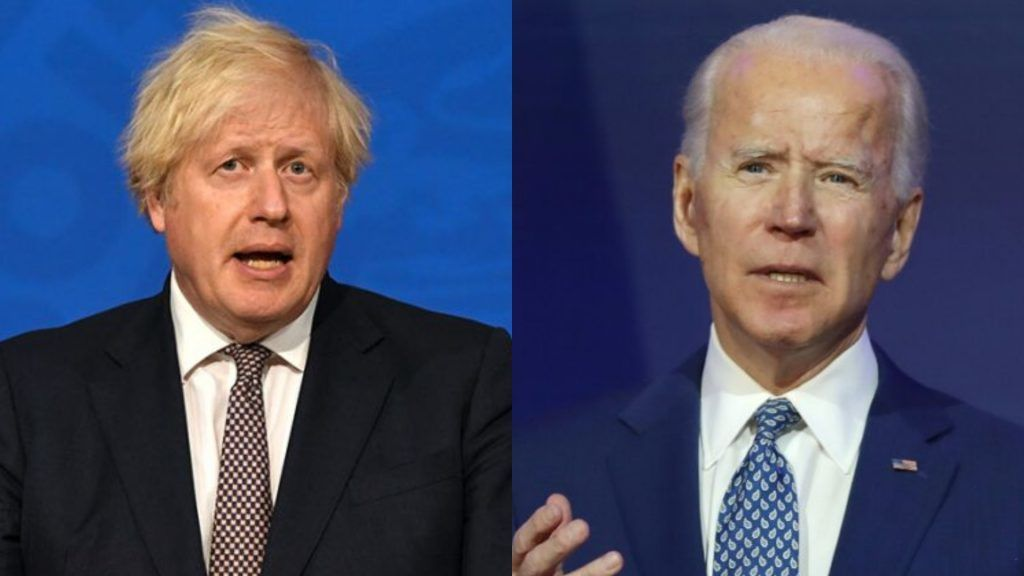 Boris Johnson is expected to urge the US president to delay the withdrawal of forces from Kabul airport during the virtual summit of G7 leaders.