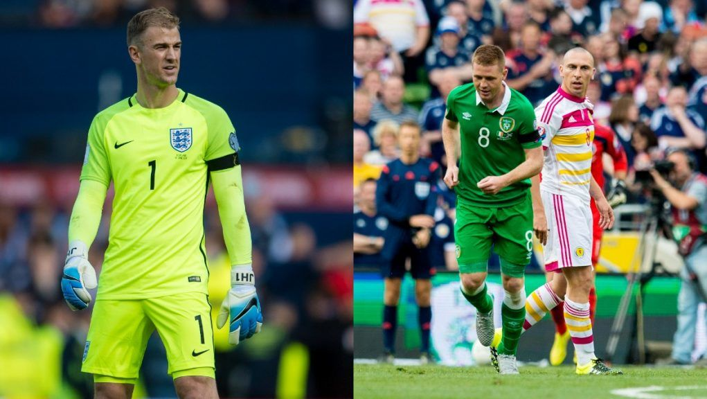 Celtic: The Hoops have signed Joe Hart and James McCarthy.