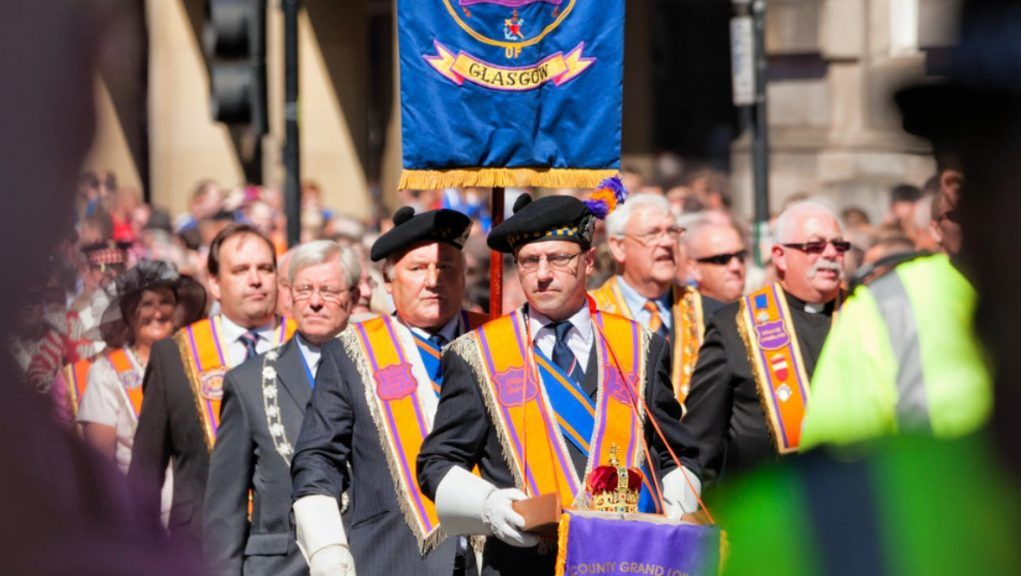 Parade: Orange walks planned for September.