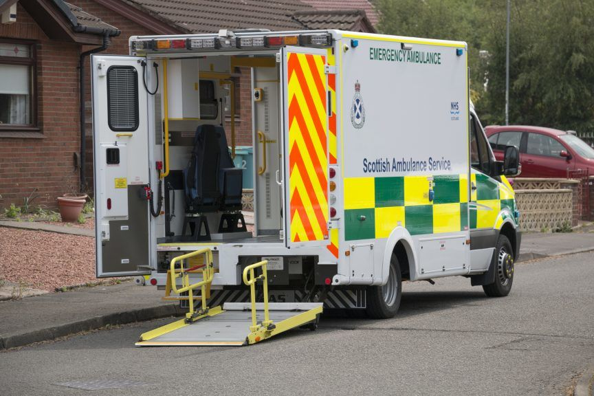 Ambulance crisis: Alex Cole-Hamilton will call for waiting times to be published weekly.