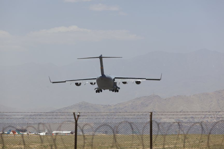 The Taliban has said that evacuations 'will not be allowed' after August 31.