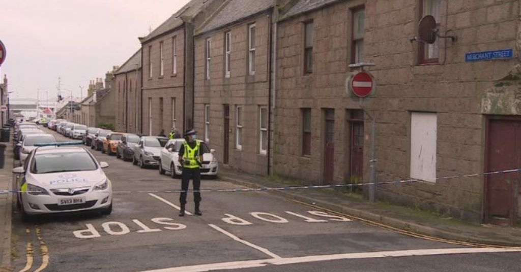 Peterhead: Two men have died after falling from scaffolding.
