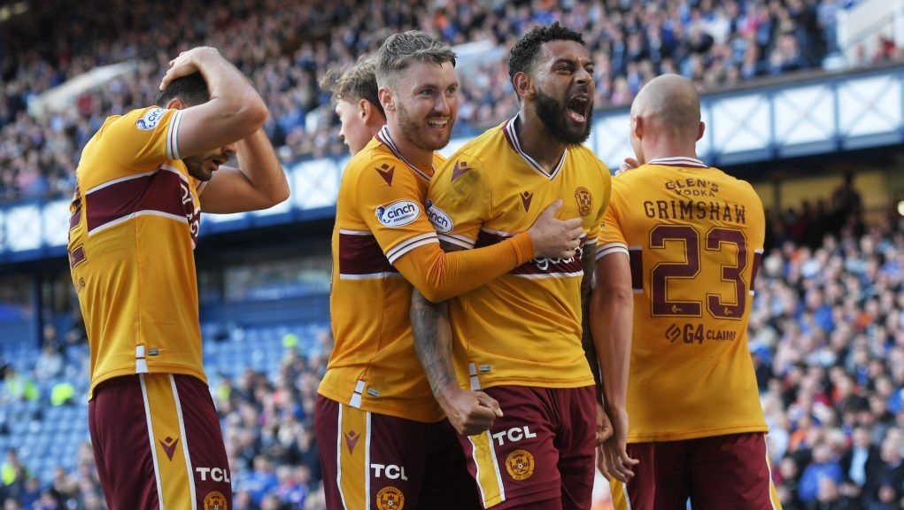 Motherwell are the first visiting side to take a Premiership point at Ibrox since March 2020.