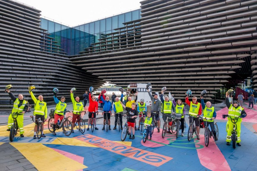 Cyclathon: Annual event gets under way in Dundee.
