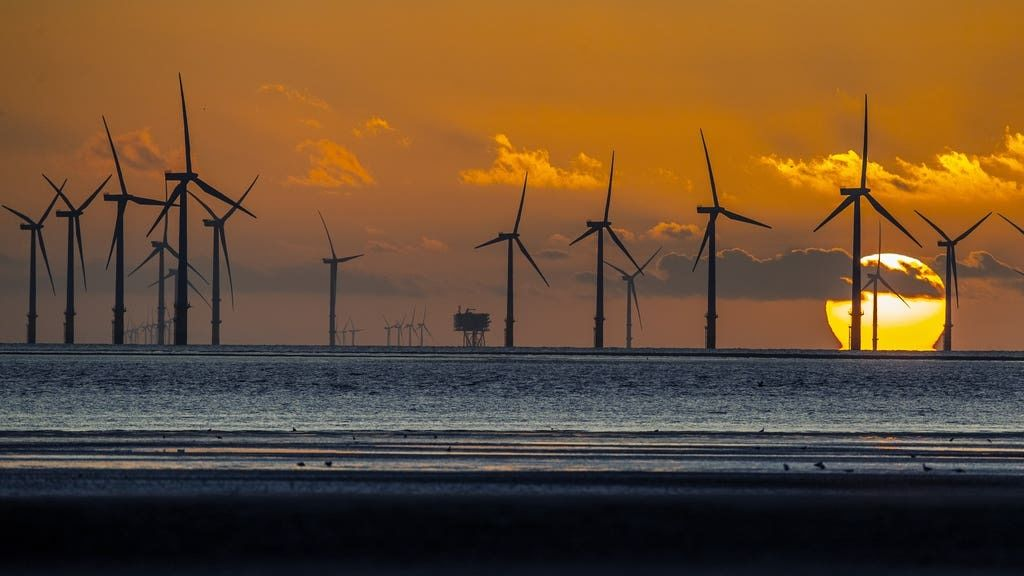 SSE is a major builder of offshore wind farms.