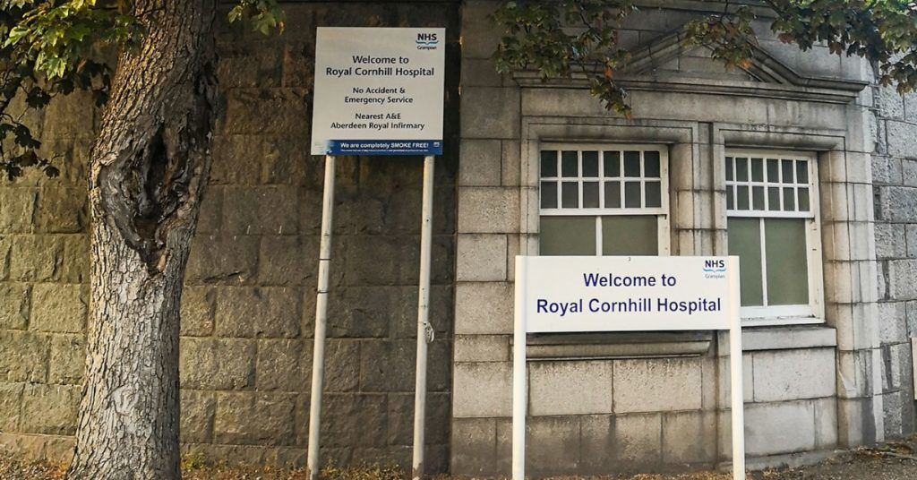 The Royal Cornhill Hospital in Aberdeen.