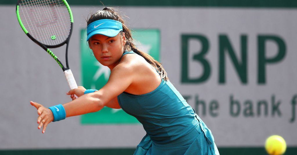Raducanu: Winner of US Open.