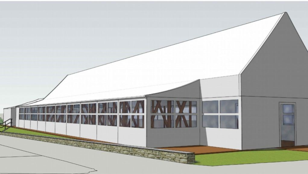 Wedding venue: Edinburgh Zoo unveils plans for marquee within grounds.