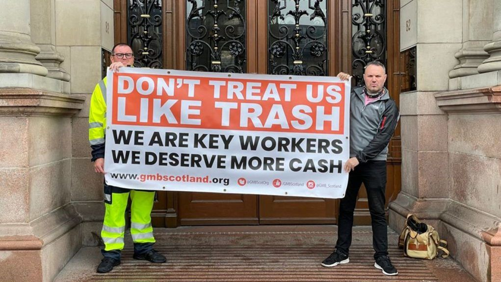 GMB union will ballot members over strike action.