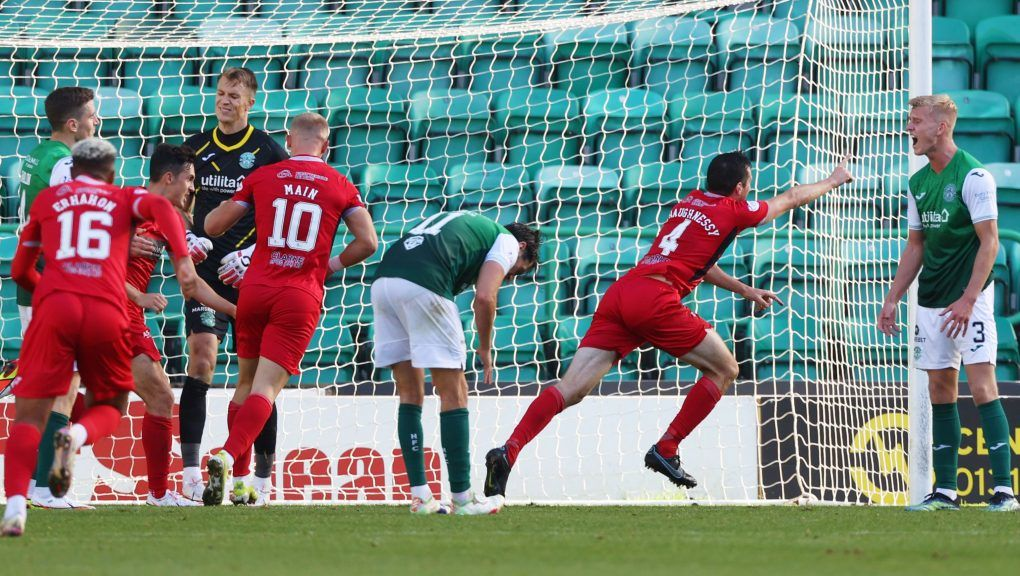 Joe Shaughnessy scored a late equaliser to earn his side a point.