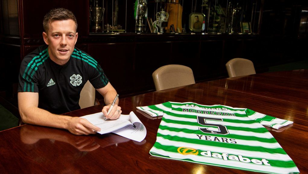 McGregor has extended his contract through to summer 2026.