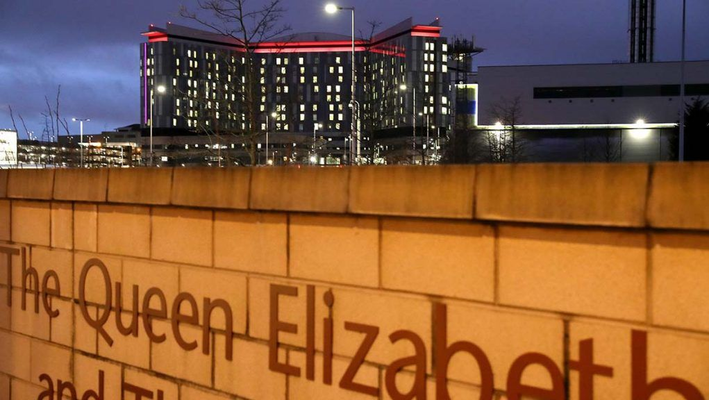 Queen Elizabeth University Hospital in Glasgow is at centre of inquiry.
