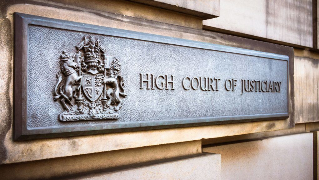 James Ferguson is on trial at the High Court in Paisley.