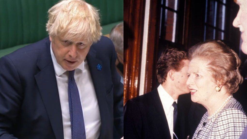 Prime Minister: Johnson 'wants to outlast Thatcher'.